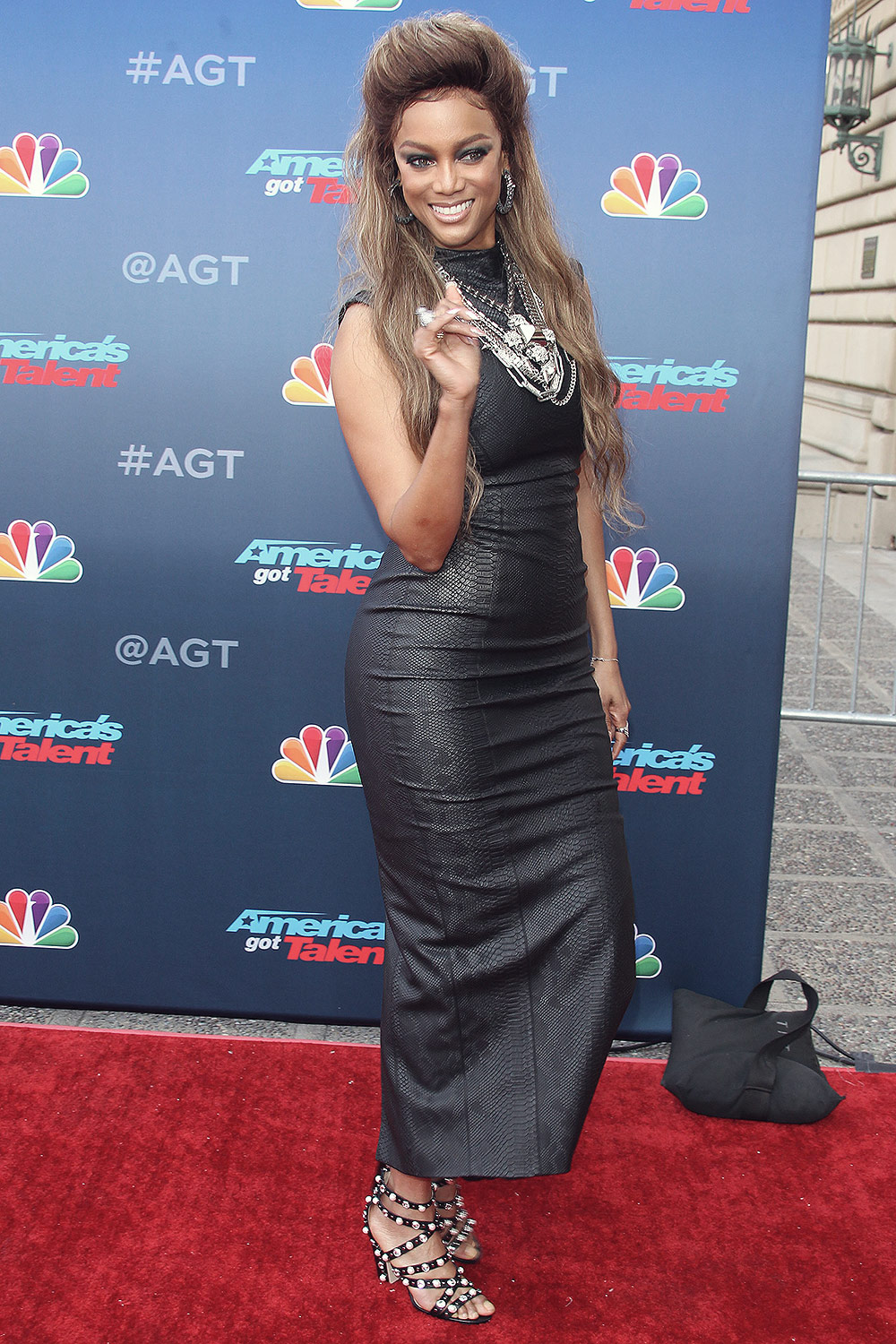 Tyra Banks attends America's Got Talent Red Carpet Kickoff