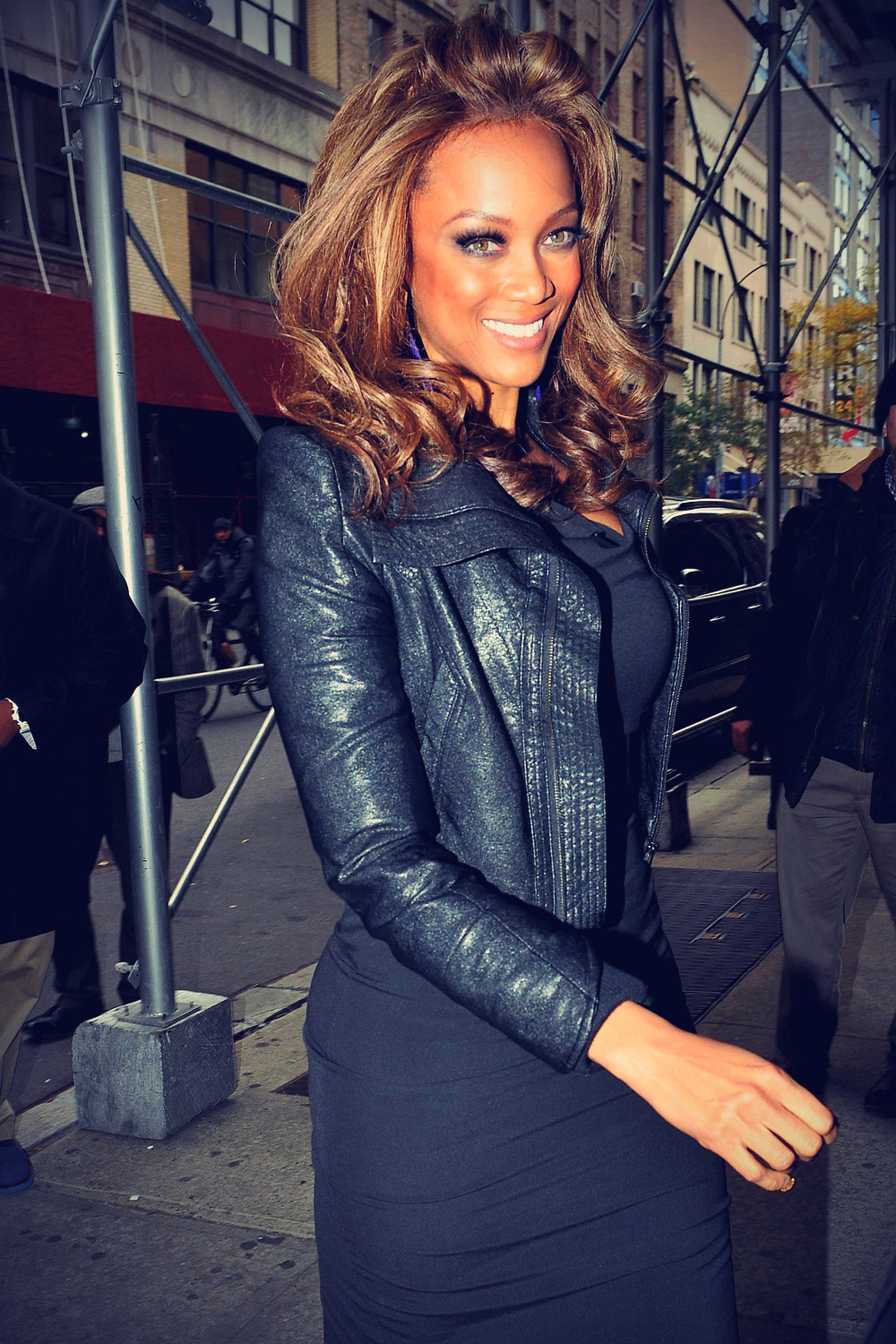 Tyra Banks stops by The Wendy Williams Show