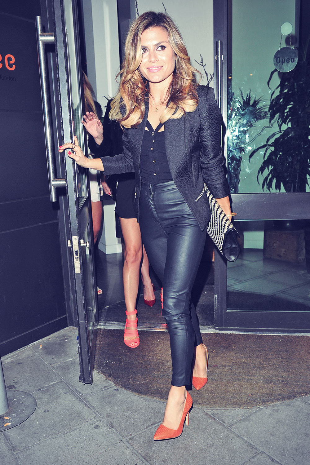 UK celebs night out in London