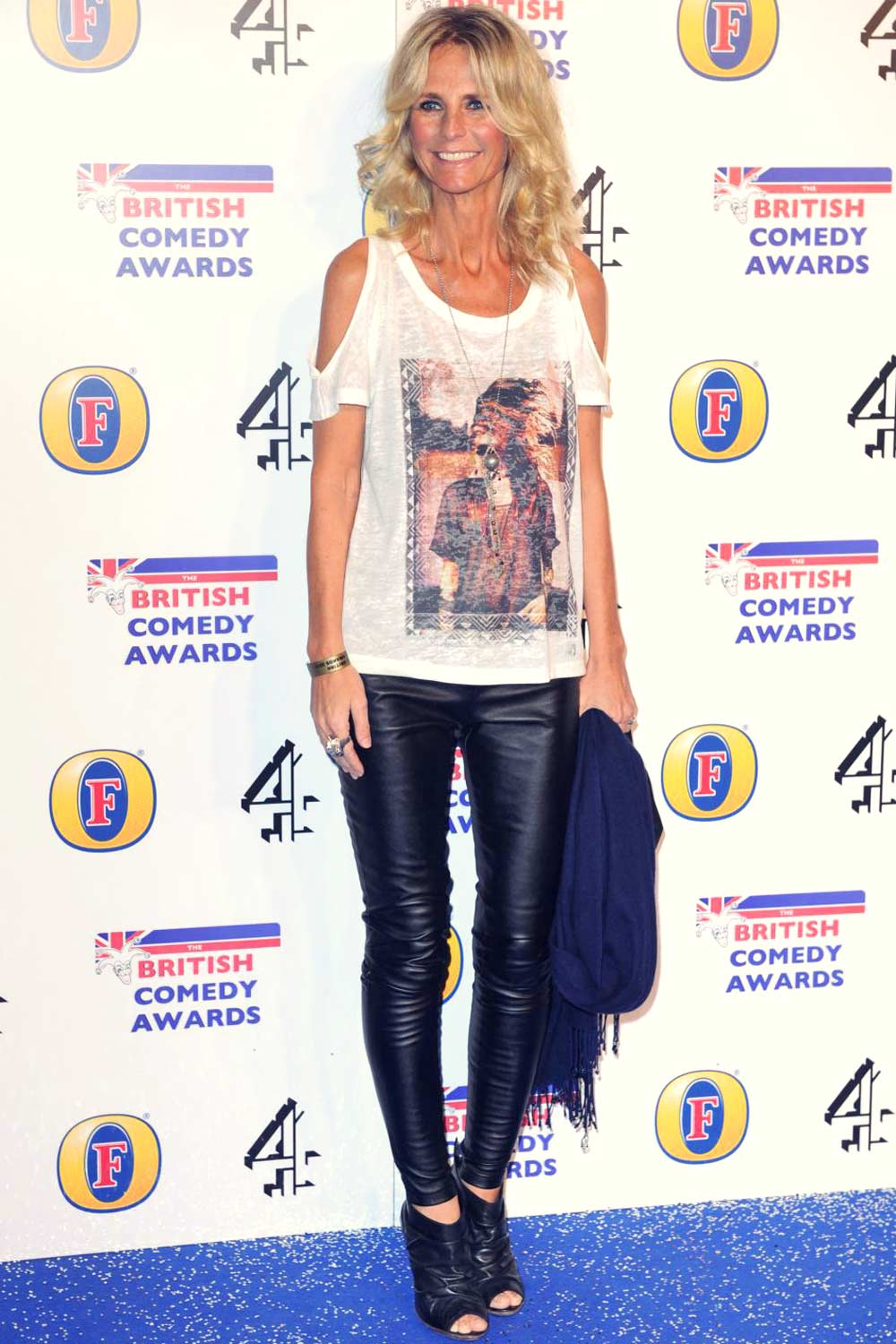 Ulrika Jonsson attends British Comedy Awards