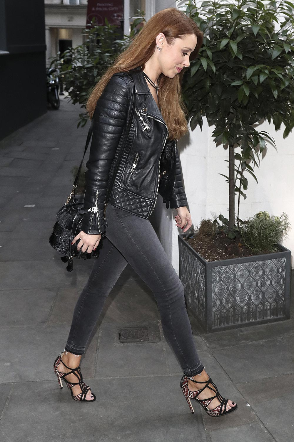 Una Healy seen at Mews of Mayfair
