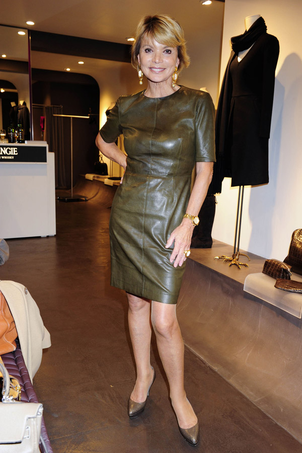 Uschi Glas Fall Collection at Boutique Blachnik in Munich