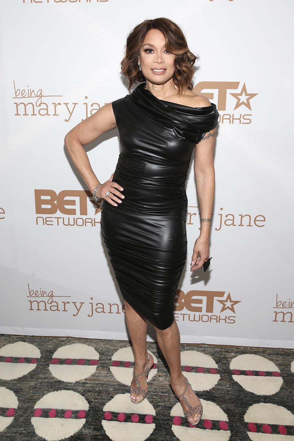 Valarie Pettiford attends the Being Mary Jane premiere