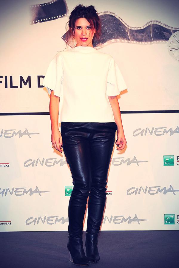 Valentina Cervi attends the Jury Photocall