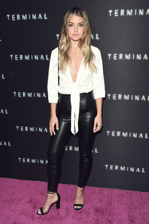 Valentina Genta attends Terminal film premiere