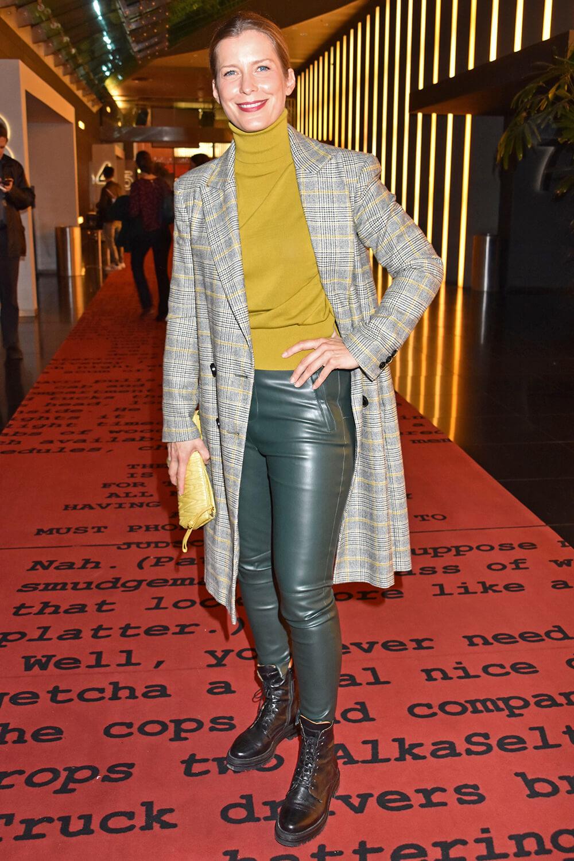 Valerie Niehaus attends Premiere des Kinofilms Ronny & Klaid