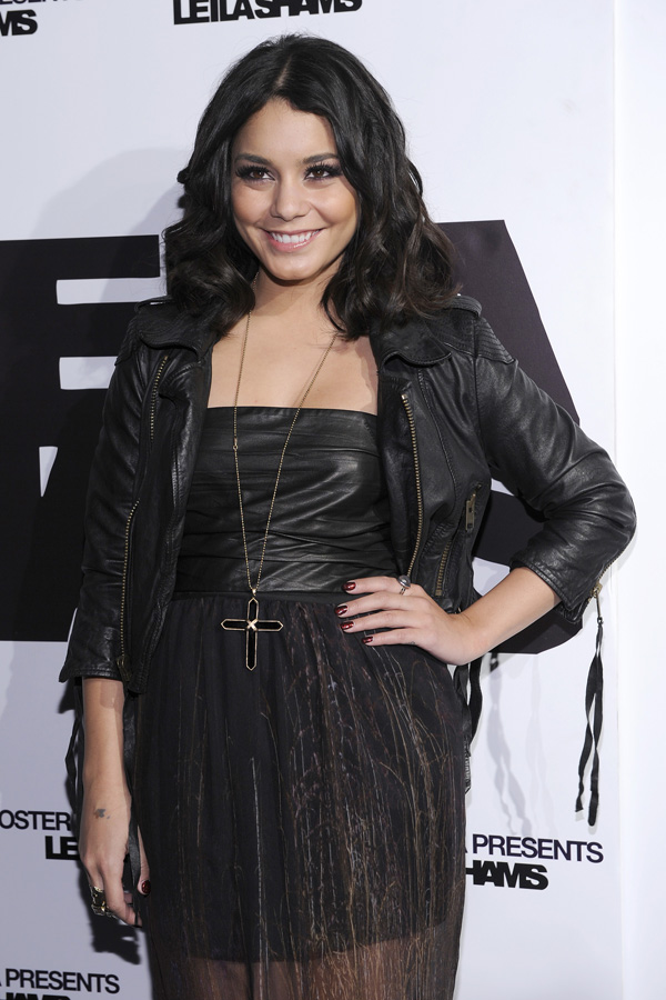 Vanessa Hudgens at Oster Media's Leila Sham's After-Party in NY