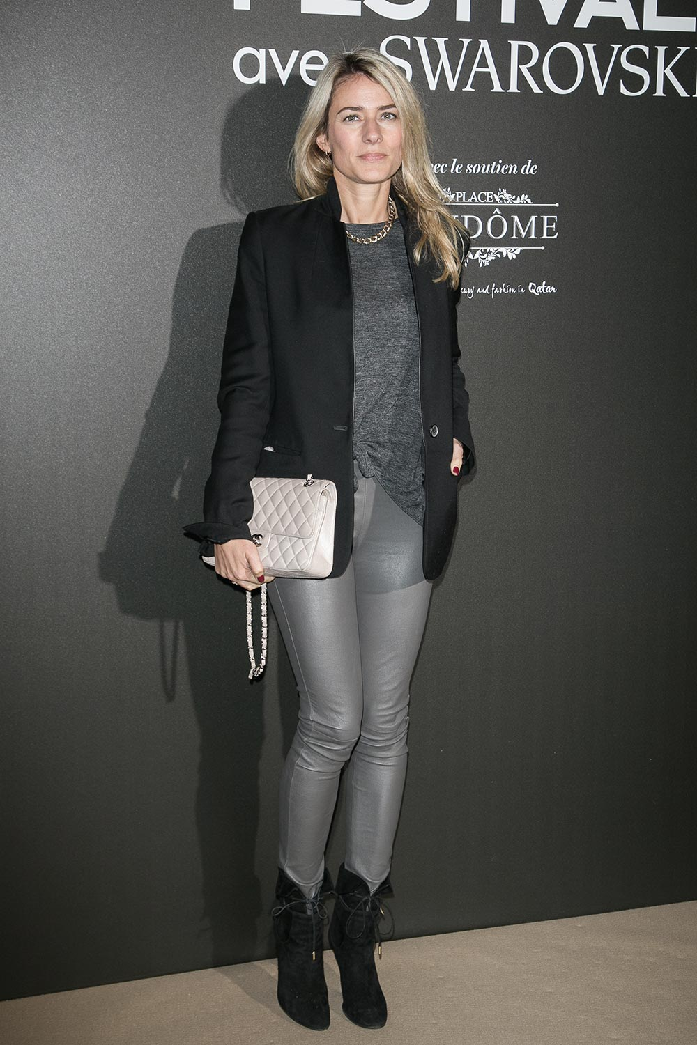 Vanessa Pinoncely attends the Vogue Fashion Festival dinner