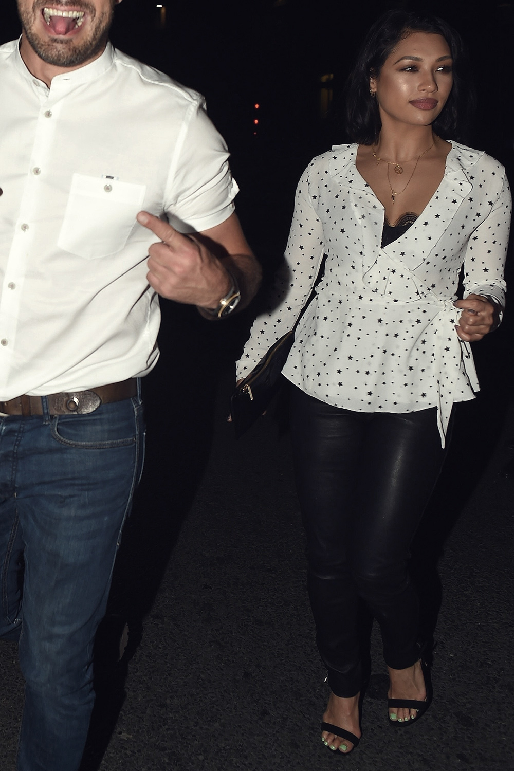 Vanessa White attends Jamie Lomas birthday