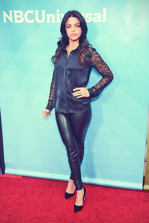 Vanessa Ferlito attends NBCUniversal's 2013 Winter TCA Tour