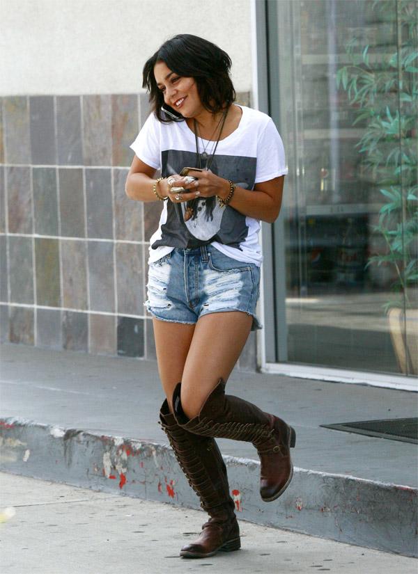 Vanessa Hudgens out in LA