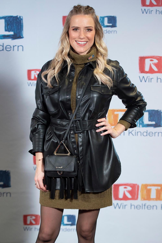 Vanessa Meisinger at RTL Spendenmarathon