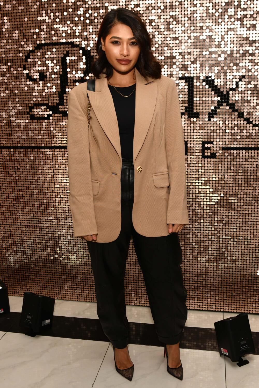 Vanessa White attends Boux Avenue X Megan McKenna Launch Event