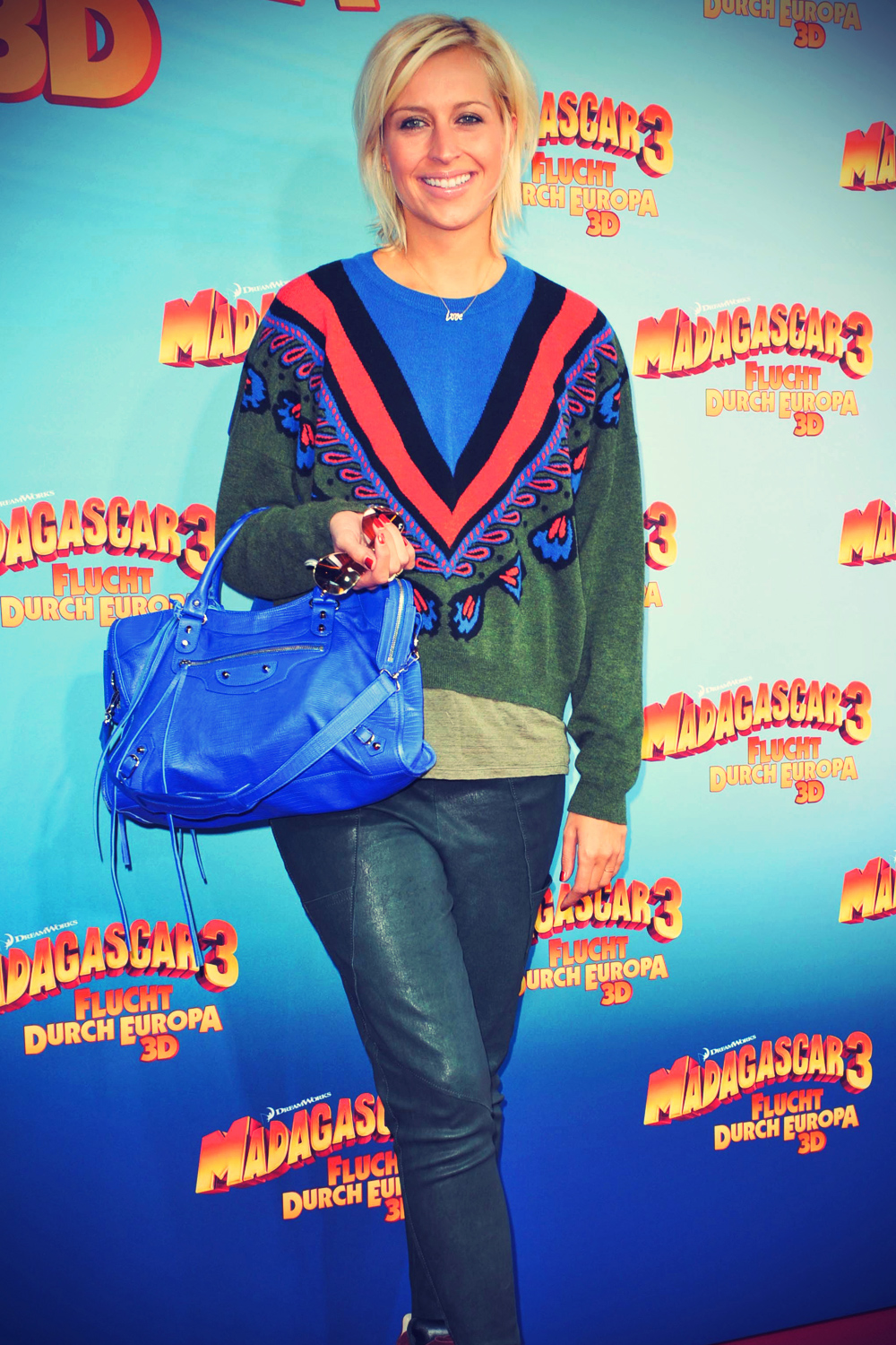 Verena Kerth at premiere MADAGASCAR 3