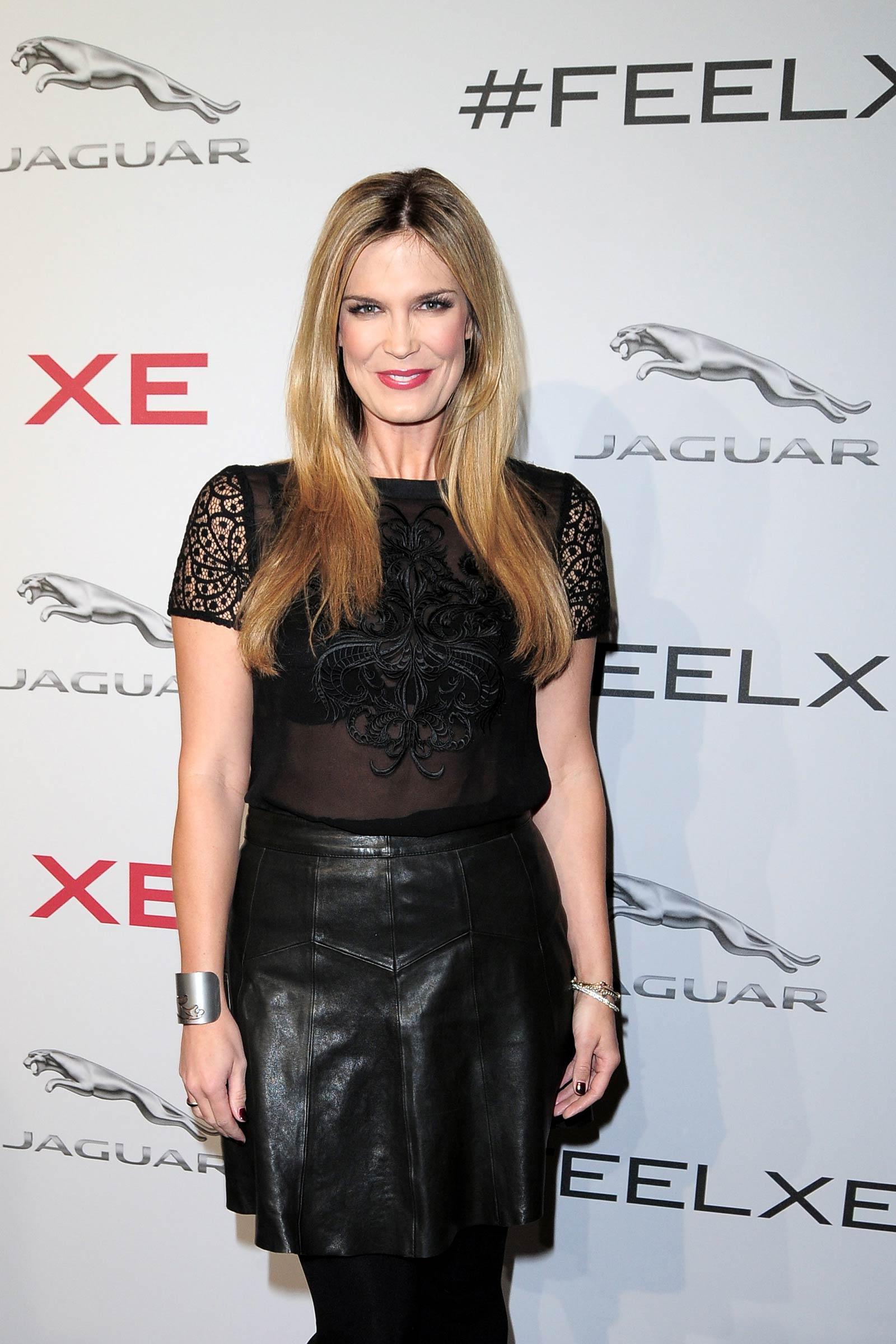 Verena Wriedt attends Jaguar XE premiere
