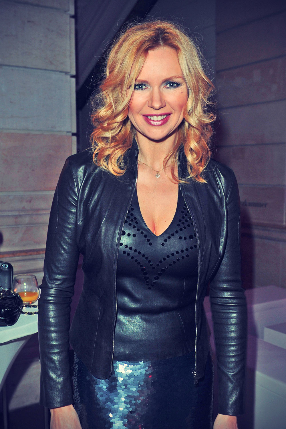 Veronica Ferres attends ARD Degeto Blue Hour Party & Festival Night