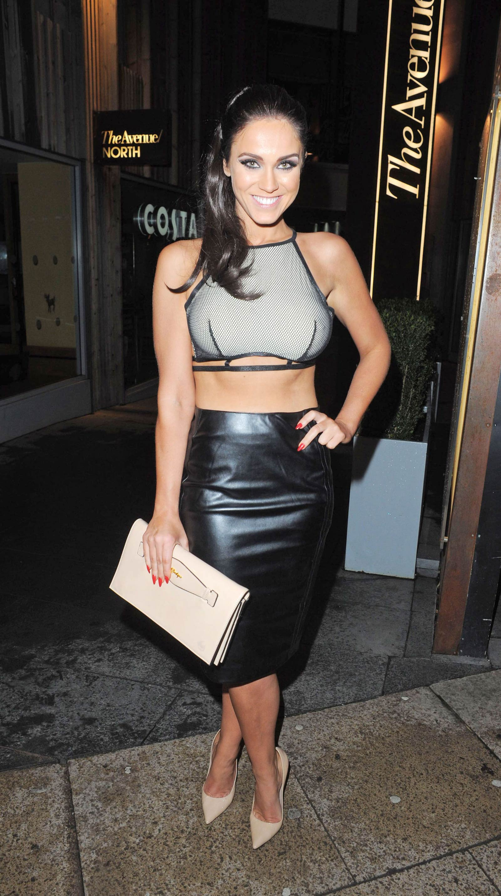 Vicky Pattison & Danielle Lloyd at Neighbourhood Restaurant