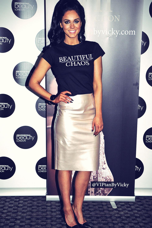 Vicky Pattison attends Beauty Show