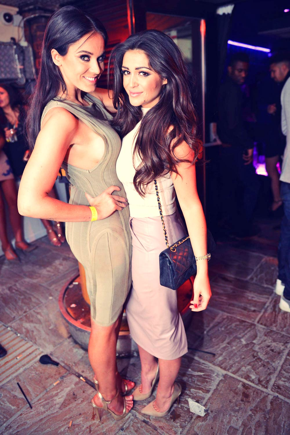 Vicky Pattison night out at the Bijou Club