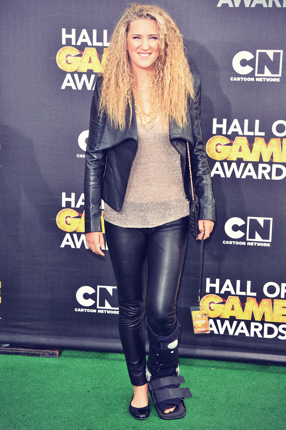 Victoria Azarenka attends 4th Annual Cartoon Network Hall
