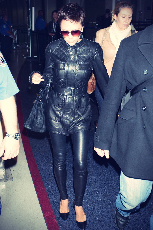 Victoria Beckham at LAX
