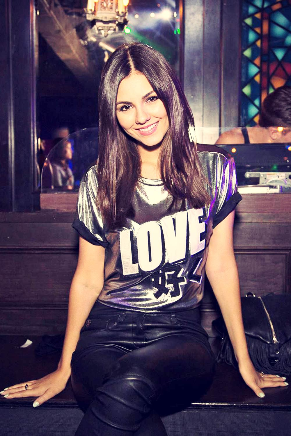 Victoria Justice at 33rd 2015 Outfest Los Angeles LGBT Film Festival