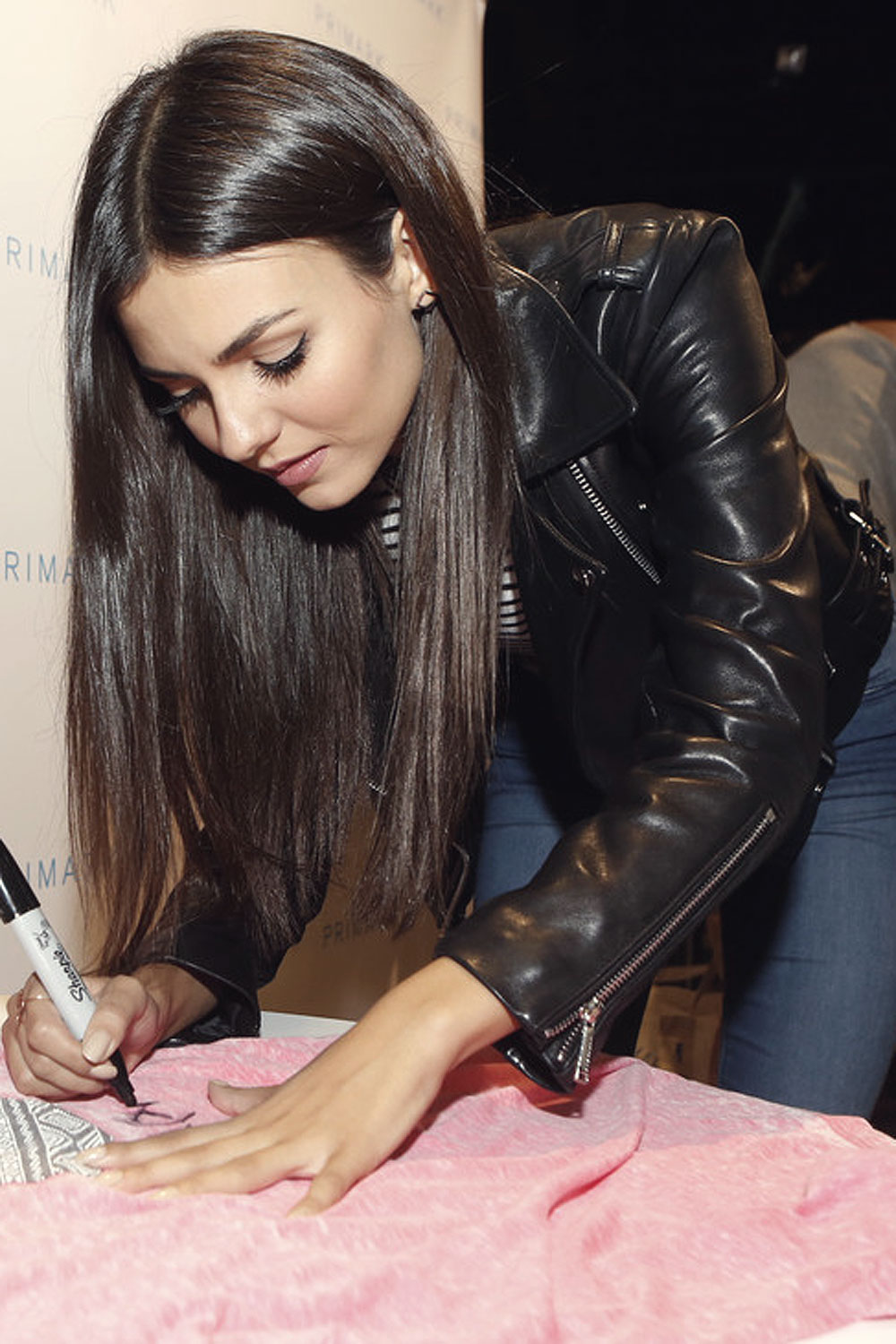 Victoria Justice attends Primark's Third US Store Opening