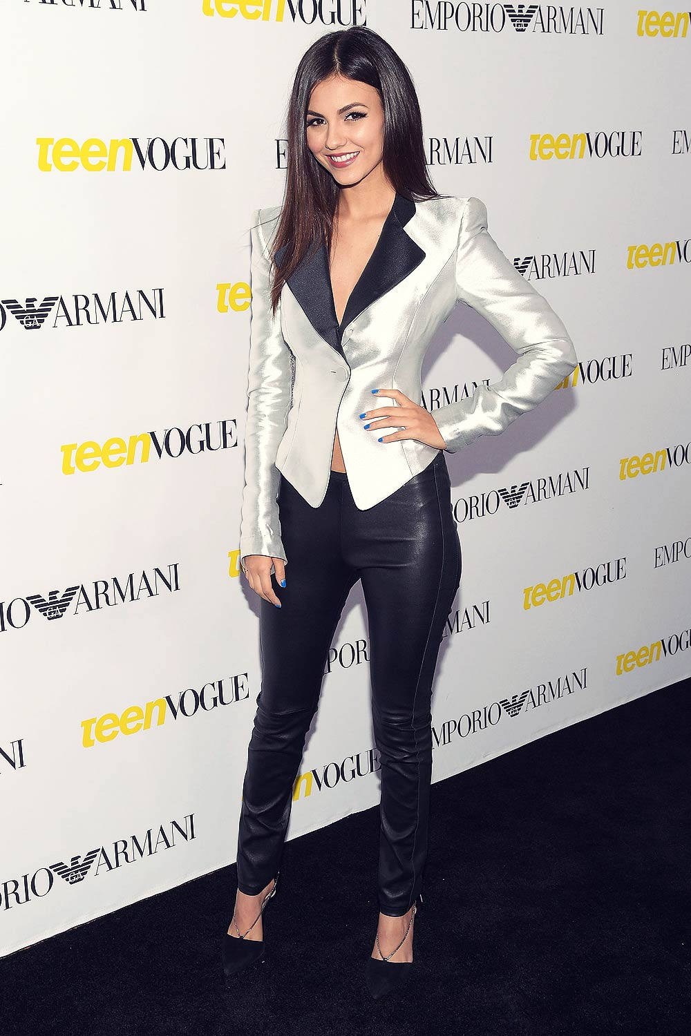 Victoria Justice attends Teen Vogue 13th Annual Young Hollywood Party