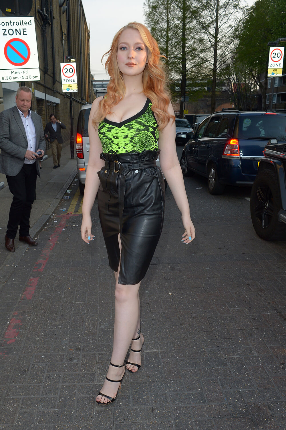 Victoria Clay attends Once Upon A Time In London UK Film Premiere