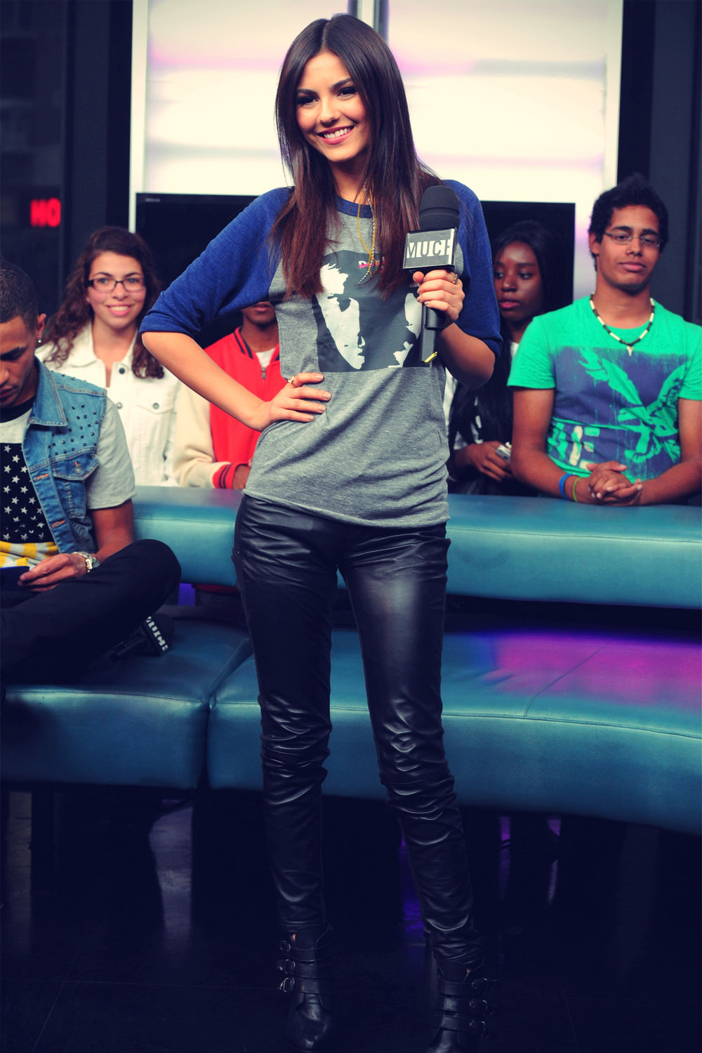 Victoria Justice MuchMusic appearance