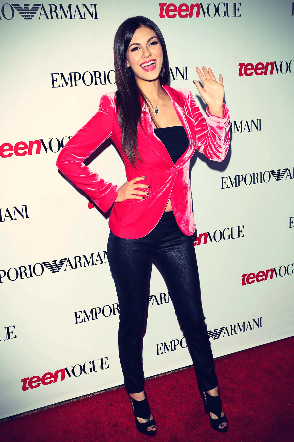 Victoria Justice Teen Vogue Young Hollywood Issue Turns Ten Party