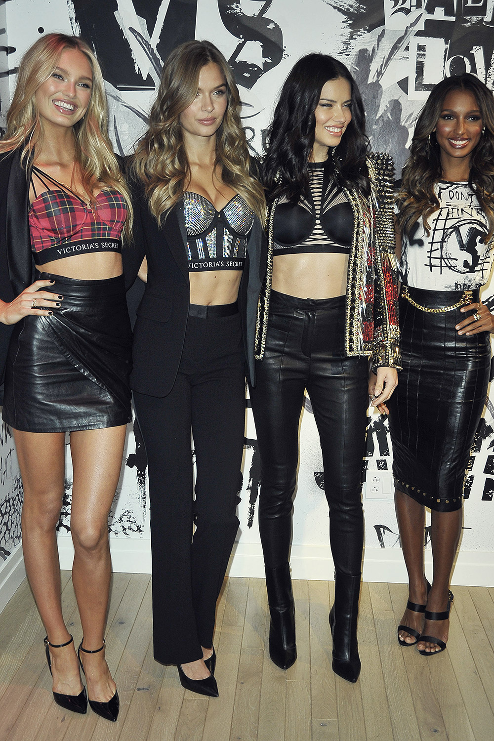 Models attend Victoria's Secret Shop The Runway