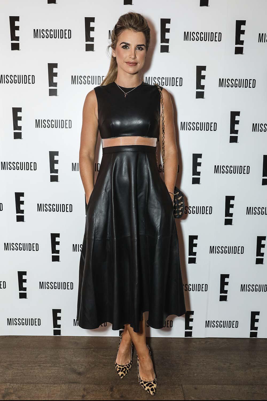 Vogue Williams at E Mariahs World launch