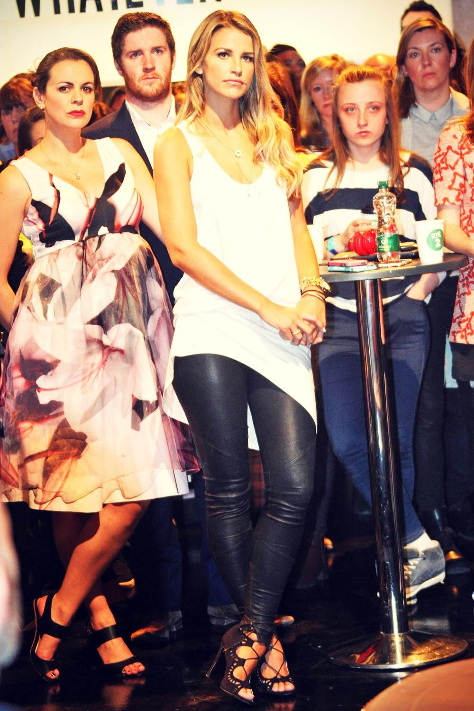 Vogue Williams at RTE 2 Studios Dublin