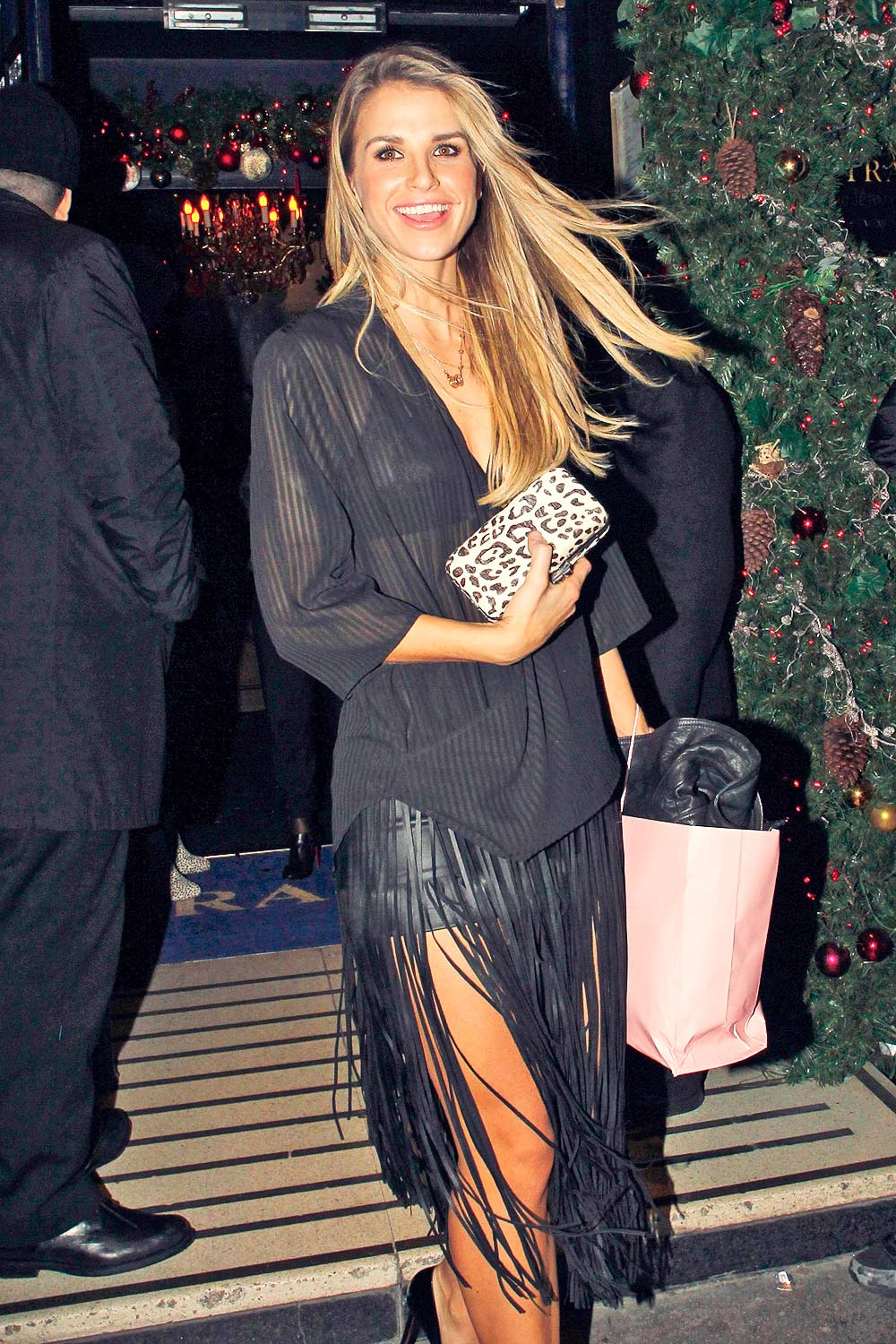 Vogue Williams Attends Sunday Times Style Magazine S Tramp