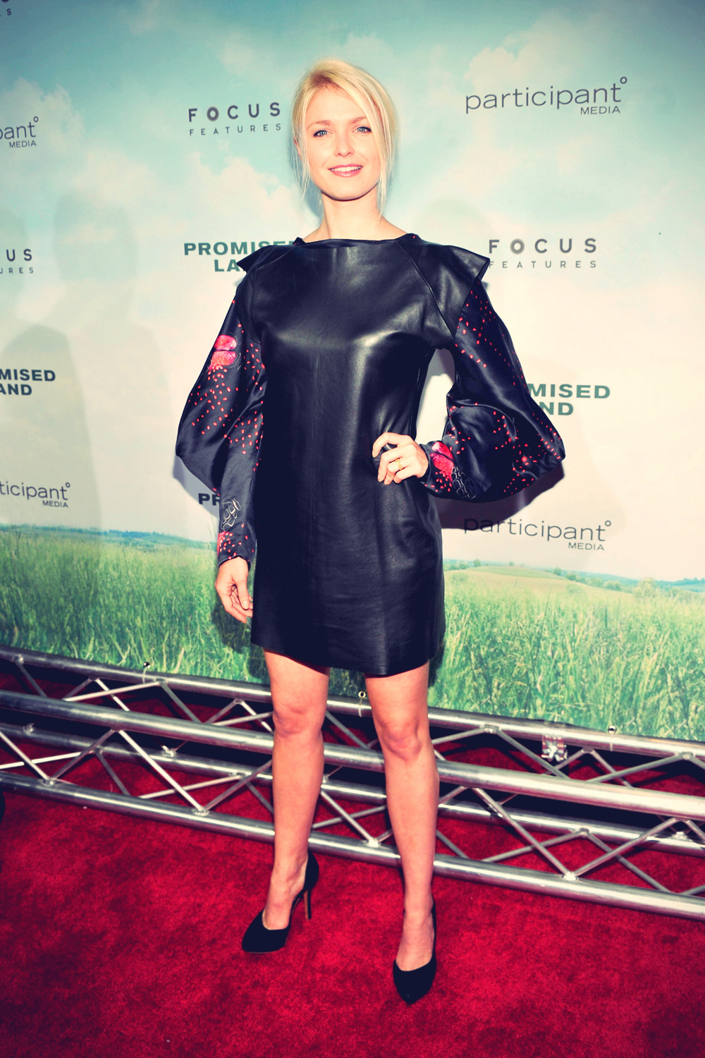 Whitney Able attends Promised Land Premiere