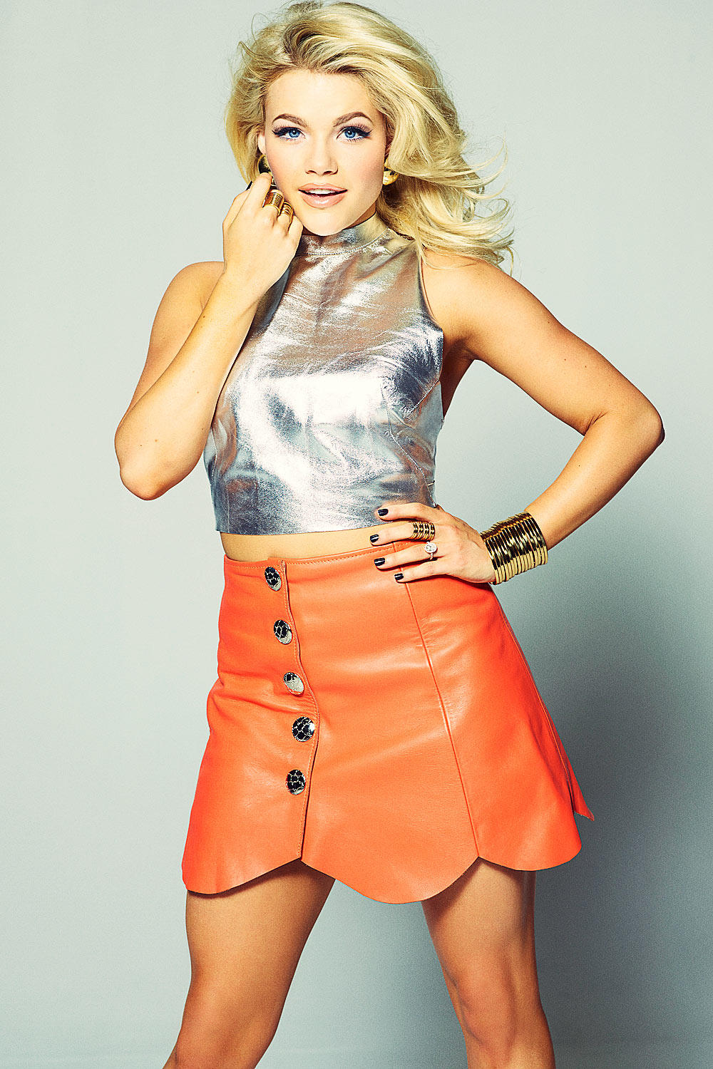 Witney Carson photoshoot for Galore