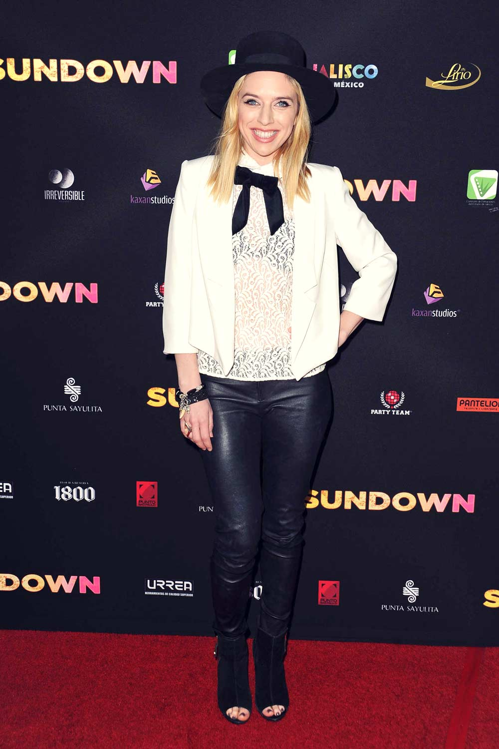 ZZ Ward attends Sundown premiere