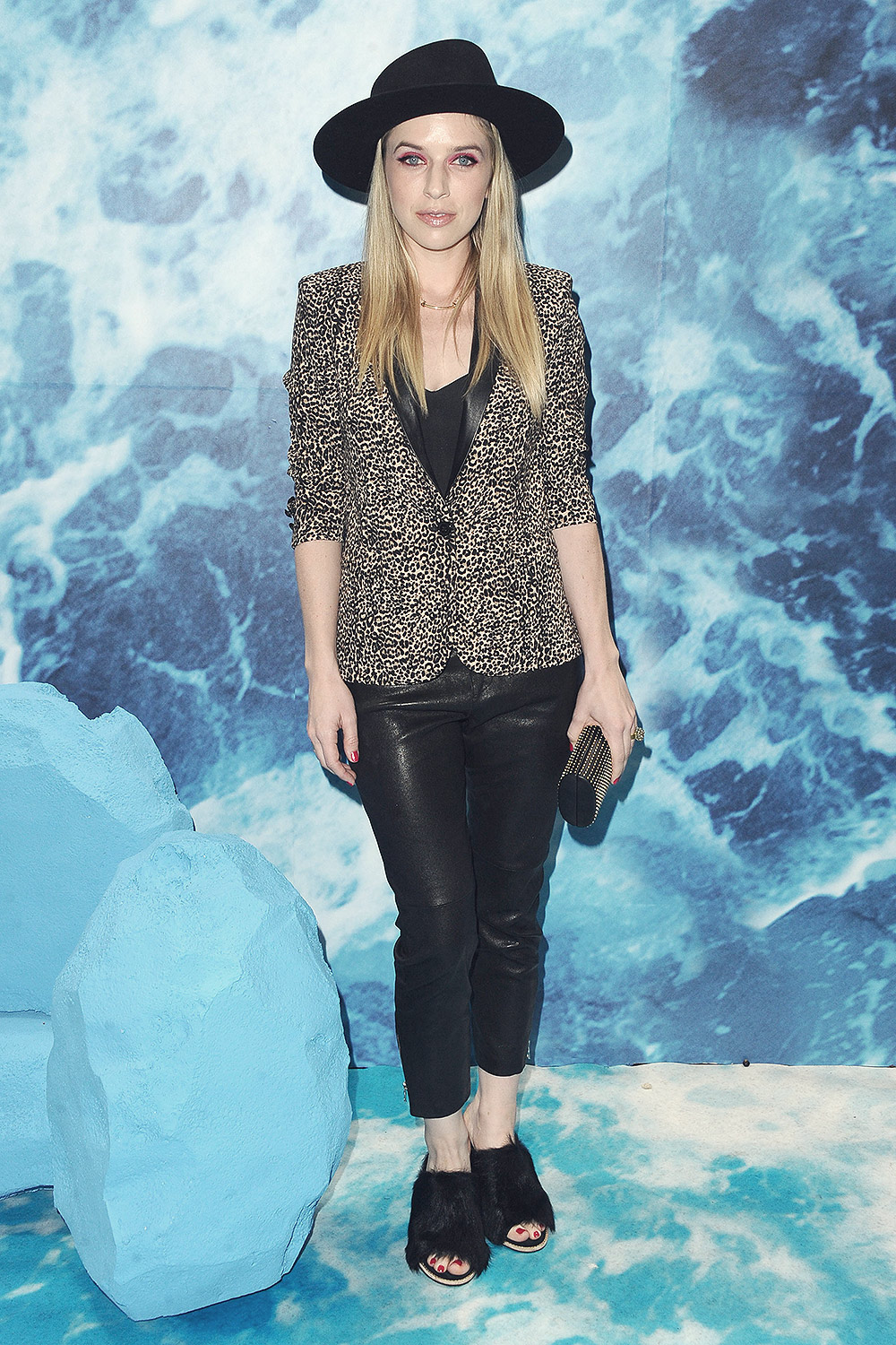 ZZ Ward attends UGG 40 Years Anniversary Celebration