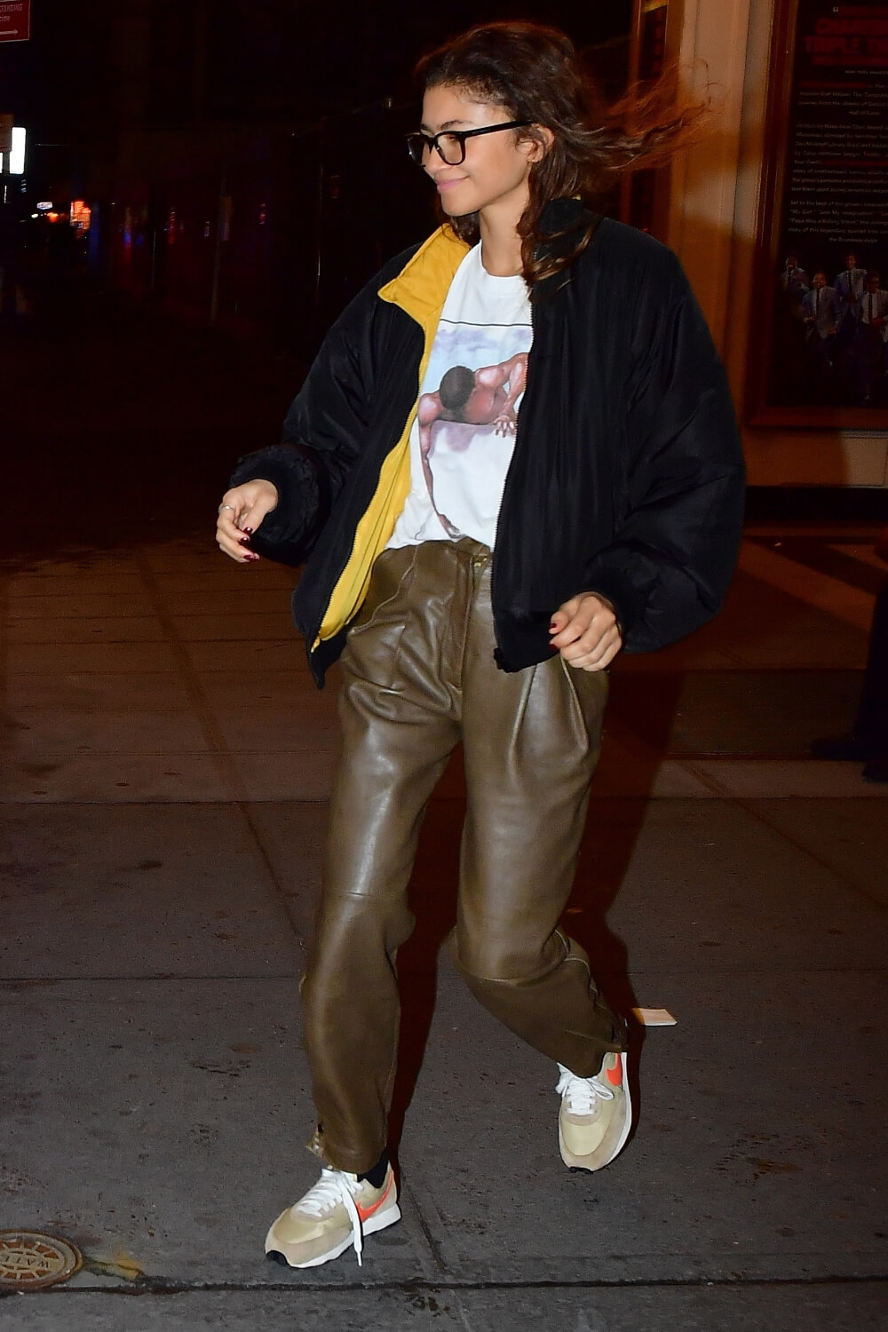 Zendaya steps out in NYC