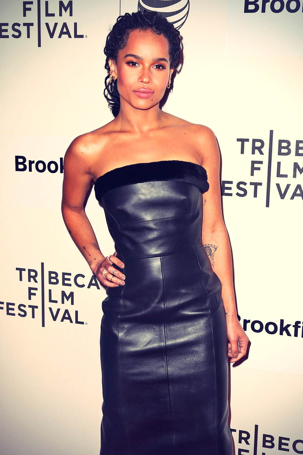Zoe Kravitz attends Good Kill Premiere