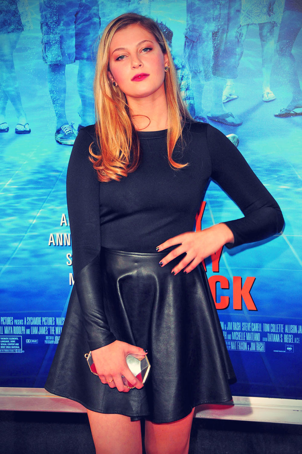 Zoe Levin attends New York Premiere of The Way, Way Back