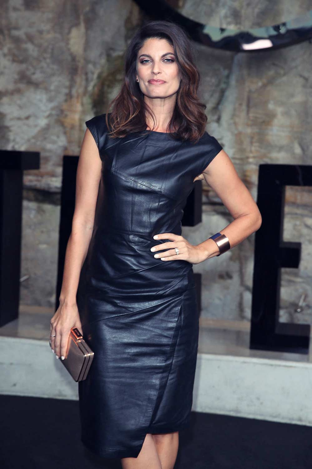 Zoe Ventoura attends the Mercedes-Benz Presents Maticevski show