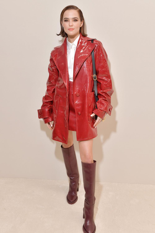 Zoey Deutch attends Valentino show