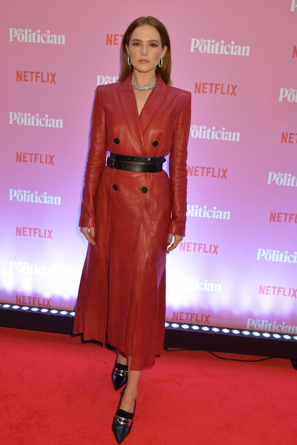 "Zoey Deutch attends a Netflix special screening of ""The Politician"""