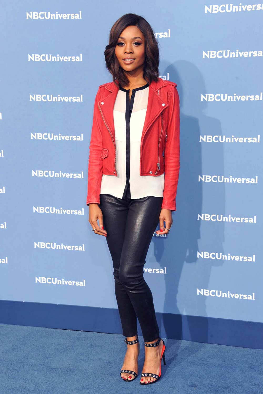Zuri Hall Attends Nbcuniversal Upfront Presentation 2016