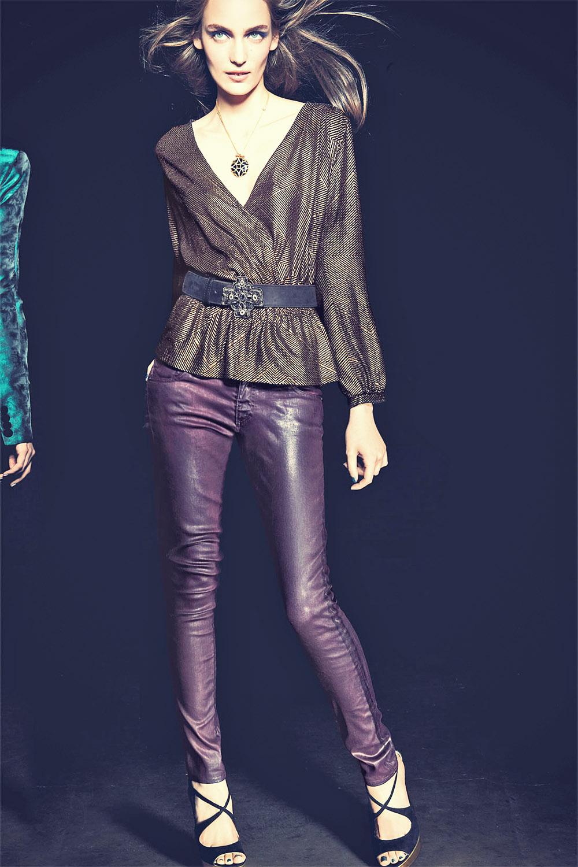 Zuzanna Bijoch leather mix