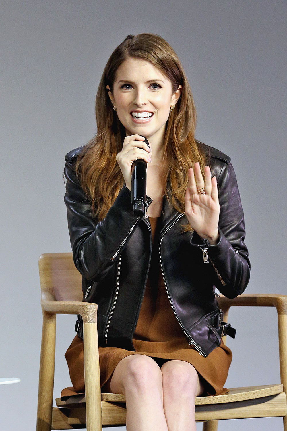 Anna Kendrick promoting Mike & Dave Need Wedding Dates