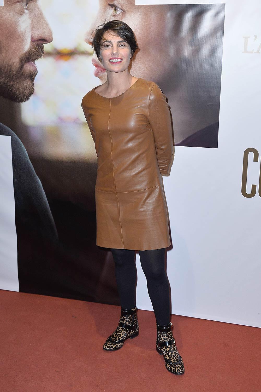 Alessandra Sublet attends the 'La Confession' Paris premiere