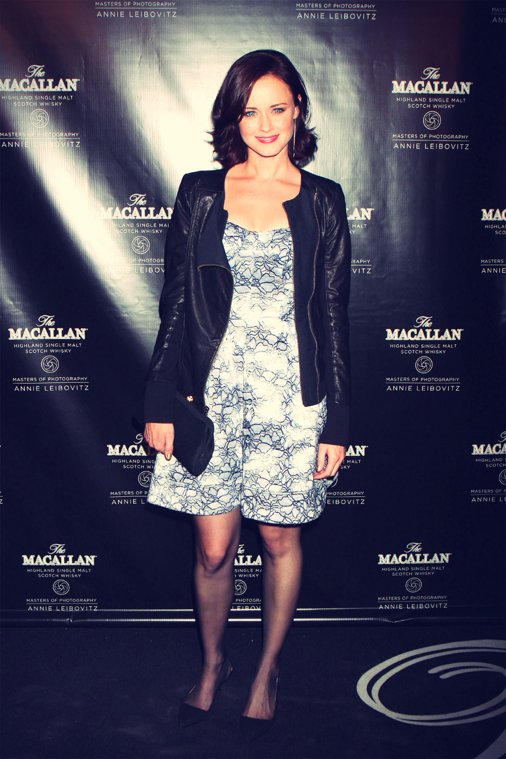 Alexis Bledel at The Macallan Masters Of Photography Series Launch